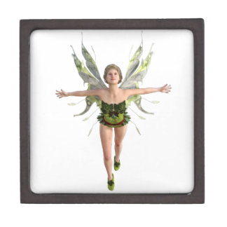 Forest Fairy Flying to the Front Jewelry Box