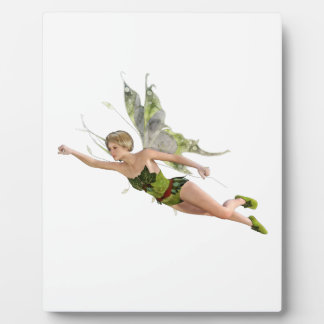 Forest Fairy Flying to the Right Plaque