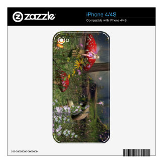 Forest fairy iPhone skin Skin For iPhone 4