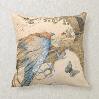 Forest Fairy Throw Pillows