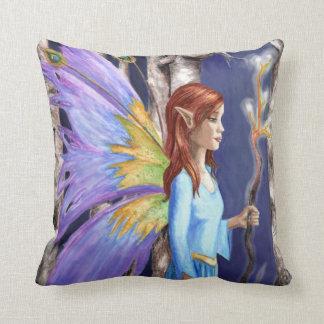 Forest Fairy Pillow Faerie Pillow Faery Pillow