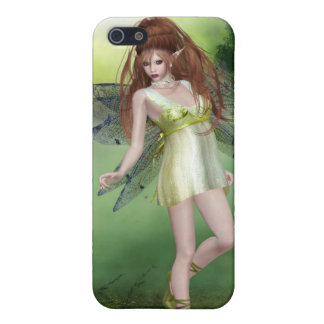 Forest Fairy Red Head iPhone 4 Case