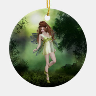 Forest Fairy Red Head Ornament