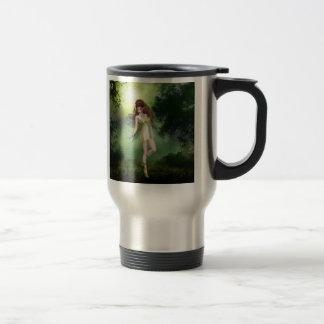 Forest Fairy Red Head Travel Mug