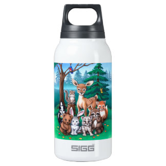 Forest Family Insulated Water Bottle