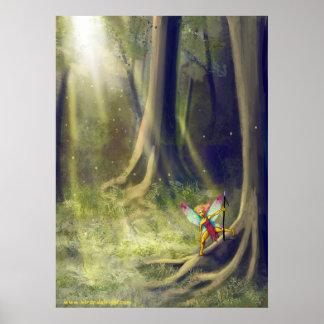 Forest Fantasy Poster