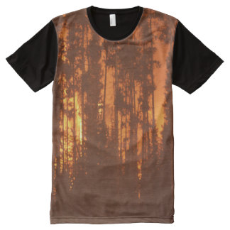 Forest Fire All-Over Print T-shirt
