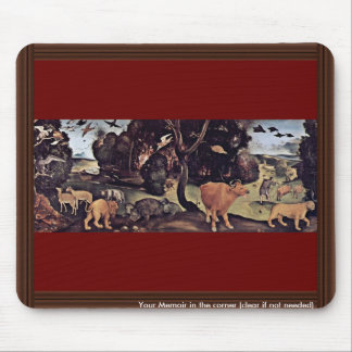 Forest Fire By Piero Di Cosimo (Best Quality) Mouse Pad
