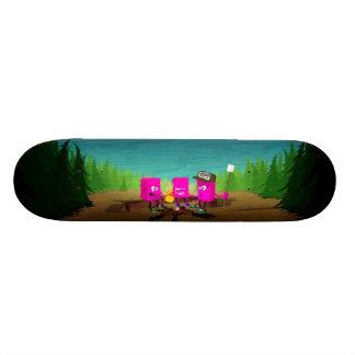 """""""Forest Fire"""" Deck Skateboard"""
