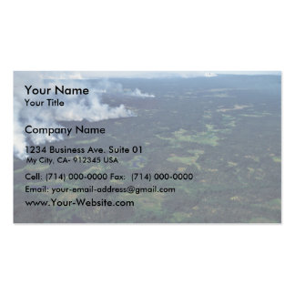 Forest Fire in the Innoko Refuge Double-Sided Standard Business Cards (Pack Of 100)