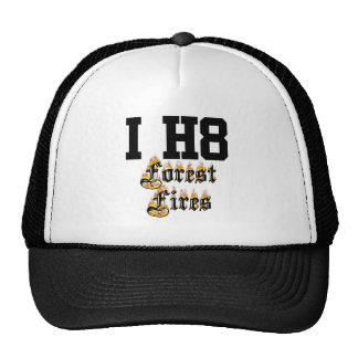 forest fires trucker hat