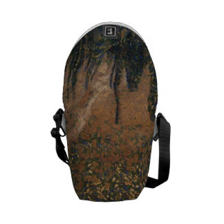 Forest floating on water reservoir courier bag