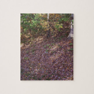 Forest Floor October Confetti Jigsaw Puzzle