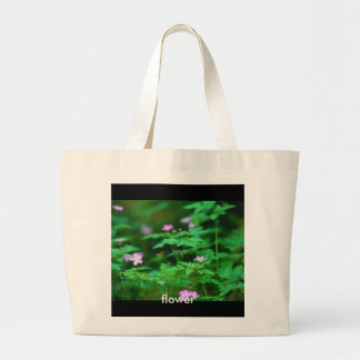 Forest Flowers, flower Tote Bags