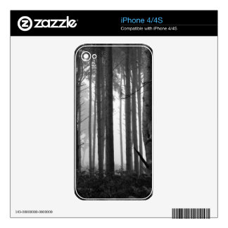 FOREST FOG 14 DECAL FOR iPhone 4
