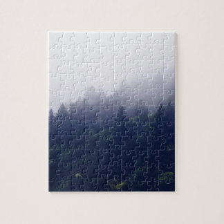 Forest Fog Jigsaw Puzzle