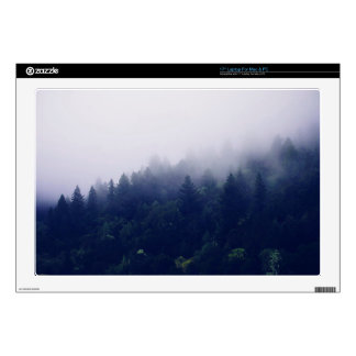 Forest Fog Laptop Decal