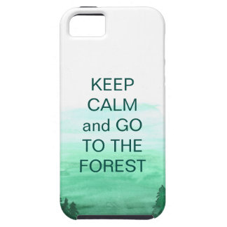 Forest, folklive, emerald case for iPhoneSE/5/5s