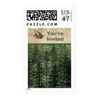 Forest for the Trees Invitation Postage