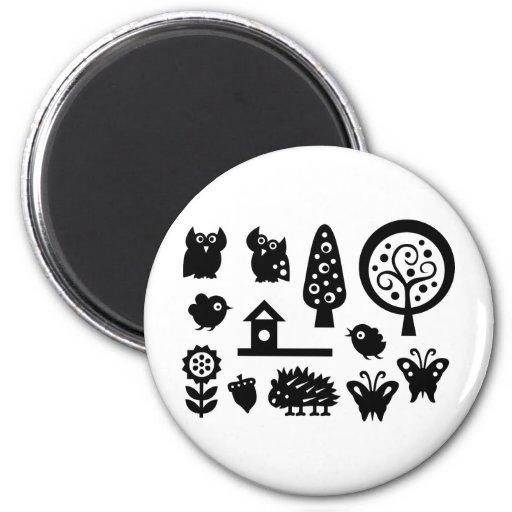 Forest Fridge Magnet