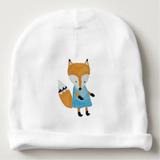 Forest Friends Adorable little Woodland Fox Baby Beanie