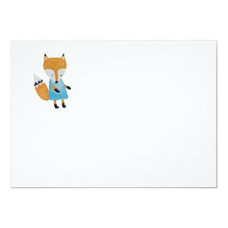 Forest Friends Adorable little Woodland Fox Card