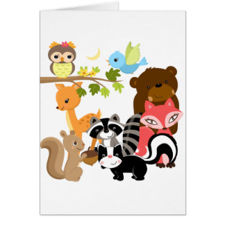Forest Friends Cards