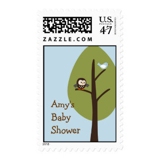 Forest Friends Forest Animal Postage Stamps