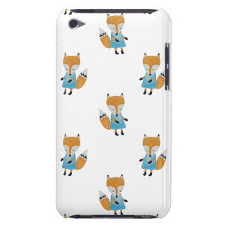 Forest Friends Fox All-Over Repeat Pattern Barely There iPod Cases