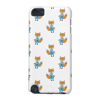 Forest Friends Fox All-Over Repeat Pattern iPod Touch (5th Generation) Covers