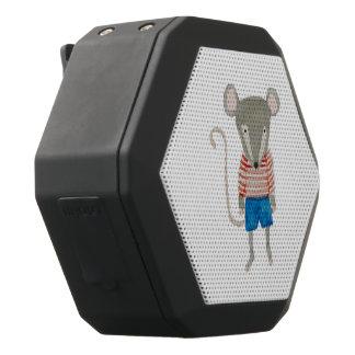 Forest Friends Mouse Black Bluetooth Speaker