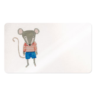 Forest Friends Mouse Business Card