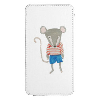 Forest Friends Mouse Galaxy S4 Pouch