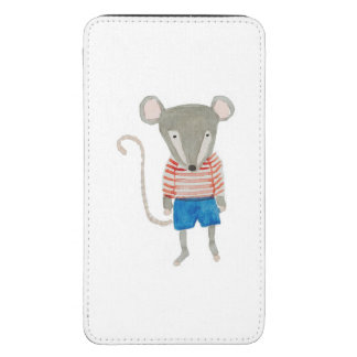 Forest Friends Mouse Galaxy S5 Pouch