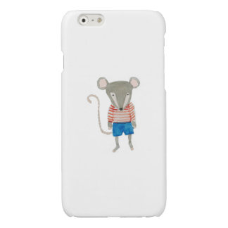 Forest Friends Mouse Glossy iPhone 6 Case
