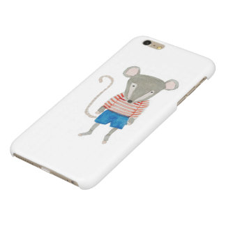 Forest Friends Mouse Glossy iPhone 6 Plus Case