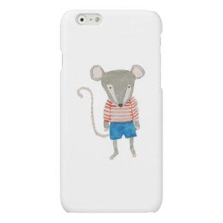 Forest Friends Mouse Matte iPhone 6 Case