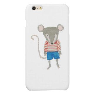 Forest Friends Mouse Matte iPhone 6 Plus Case