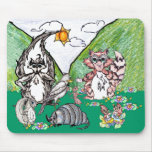 Forest Friends Mouse Pad