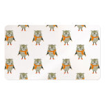 Forest Friends Owl All-Over Repeat Pattern Double-Sided Standard Business Cards (Pack Of 100)
