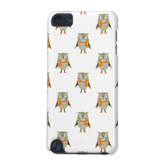 Forest Friends Owl All-Over Repeat Pattern iPod Touch 5G Case