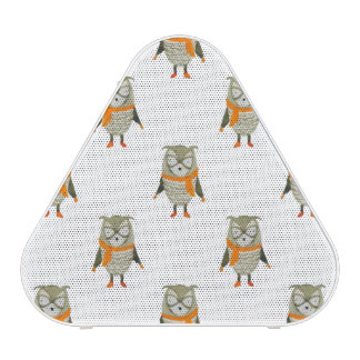 Forest Friends Owl All-Over Repeat Pattern Speaker