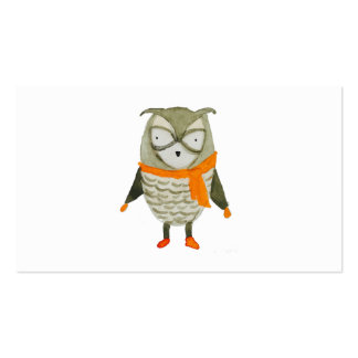 Forest Friends Owl Business Card