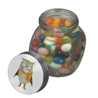 Forest Friends Owl Jelly Belly Candy Jars