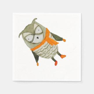 Forest Friends Owl Napkin
