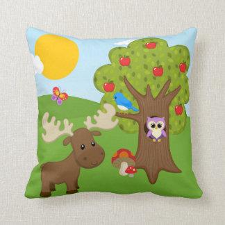 Forest friends pillow