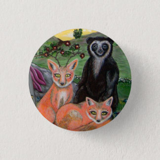 Forest Friends Pinback Button