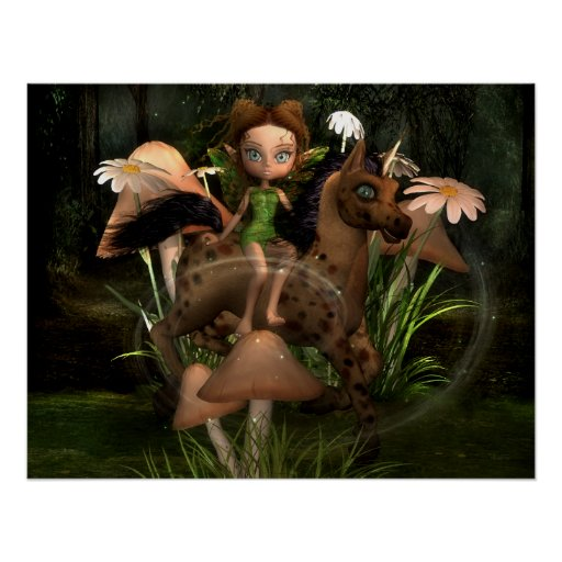 Forest Friends Pixie Power Collection Posters
