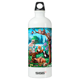 Forest Friends SIGG Traveler 1.0L Water Bottle
