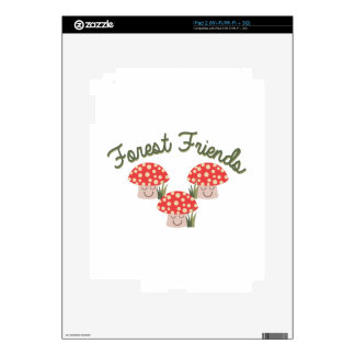 Forest Friends iPad 2 Skins